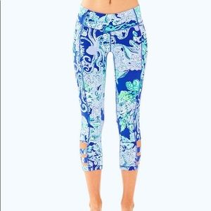 NWT Lilly Pulitzer Luxletic Cropped Legging